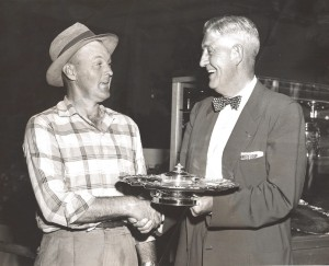 Grandpa Bill wins another award at 1957 Ohio State Fair.
